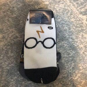 Five Harry Potter Socks
